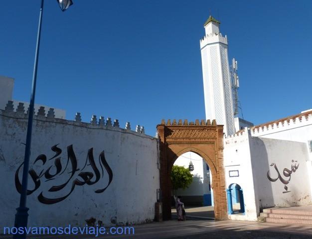 Grafiti en Larache