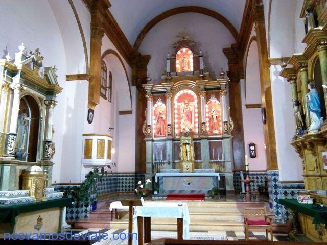 Iglesia de San Bartolome en Arcila