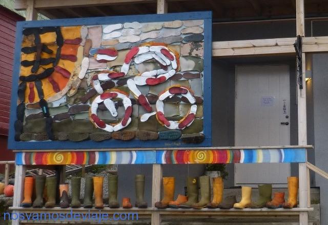Arte con zapatos Honingsvag