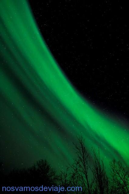 Aurora boreal en Kirkenes