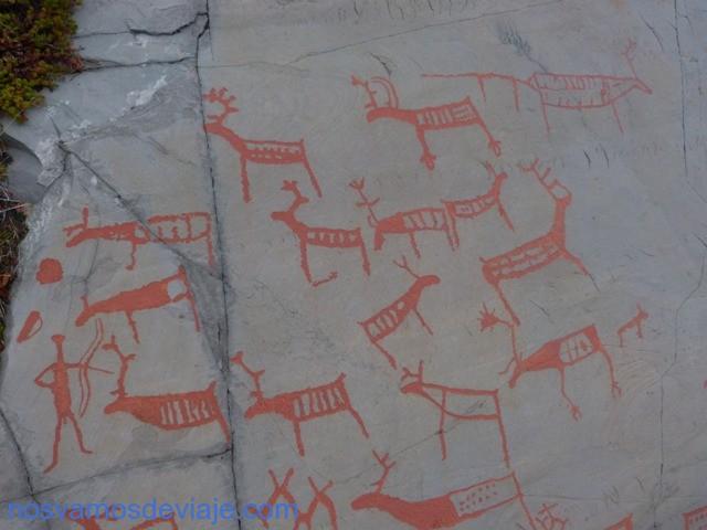 Grabados rupestres Alta