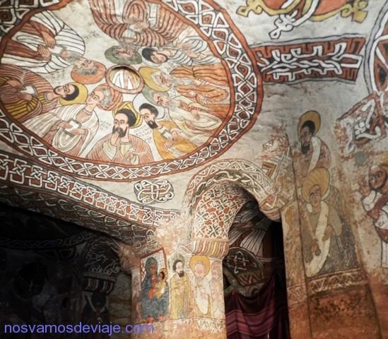 Frescos de Abuna Yemata