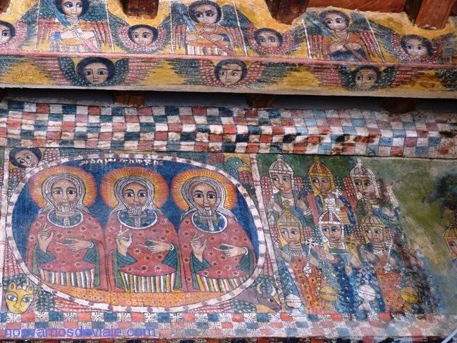 Murales de Abraha we Atsbeha