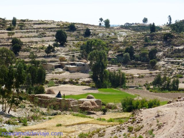 paisaje rural del Tigray