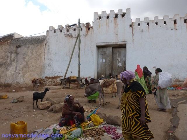 Puerta muralla Harar