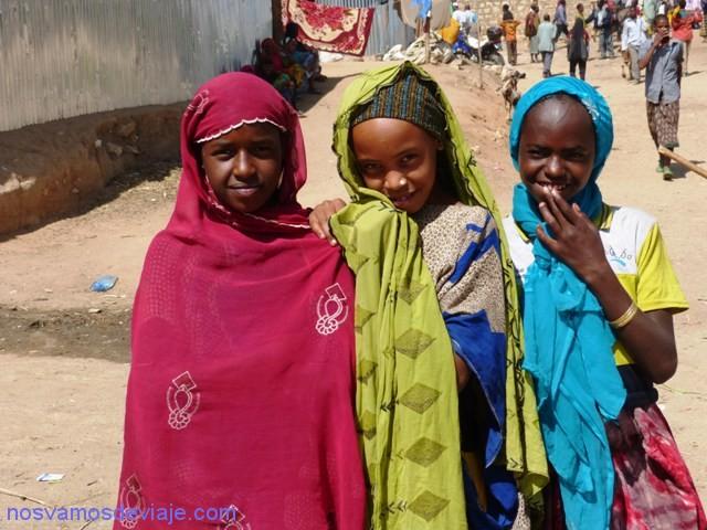 chicas Harar