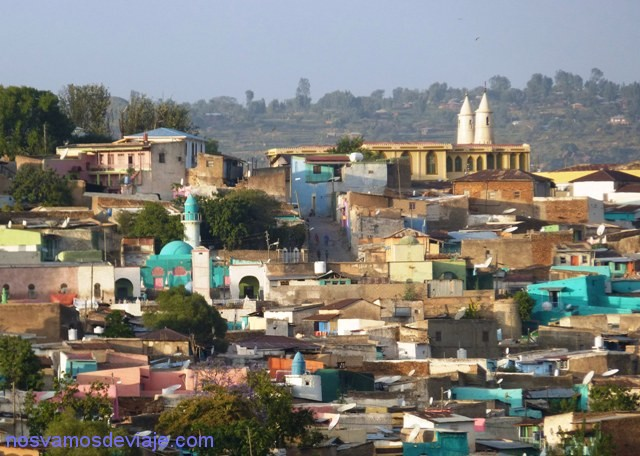 panorama Harar