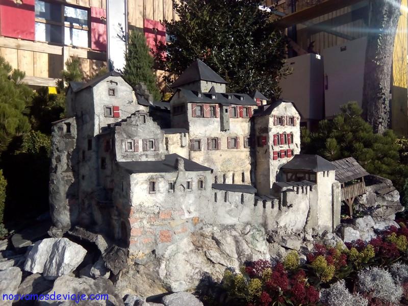 Miniatura del castillo
