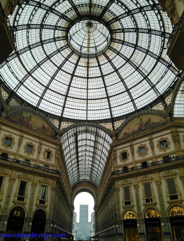 Galeria Vitorio Emanuele de Milan