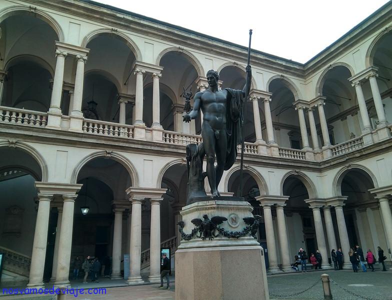 Napoleon en la pinacoteca de Brera Milan