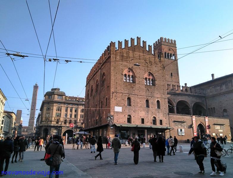 Palacio Re Enzo y las Dos Torres