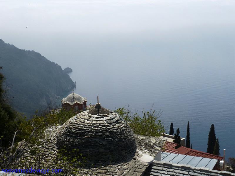 La costa desde Agias Anna