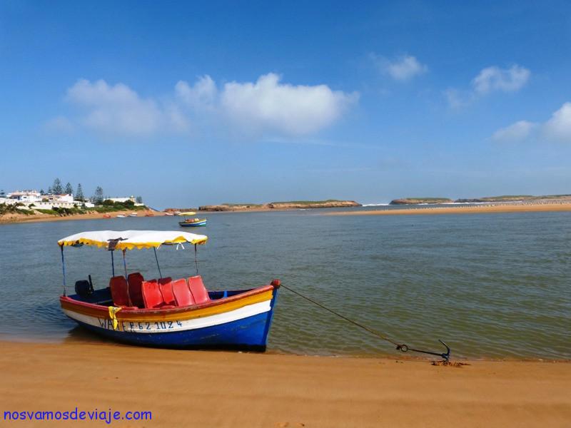 Barcas turisticas Oualidia