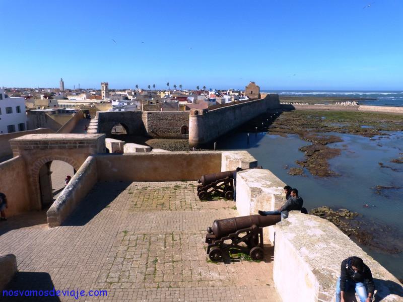 Bastion de la muralla de la antigua Mazagan