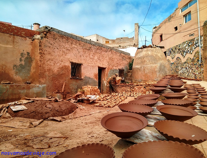 barrio alfareros de Safi
