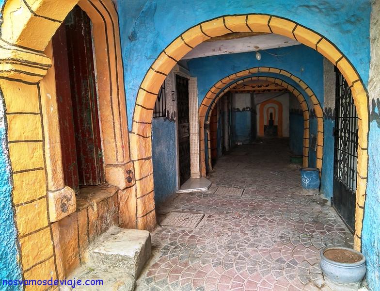 calles de la medina de Safi