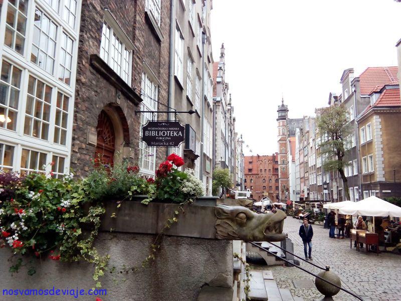 Calle Mariacka Gdansk