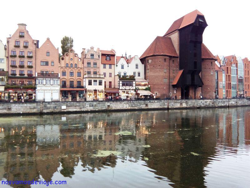 Grua medieval Gdansk
