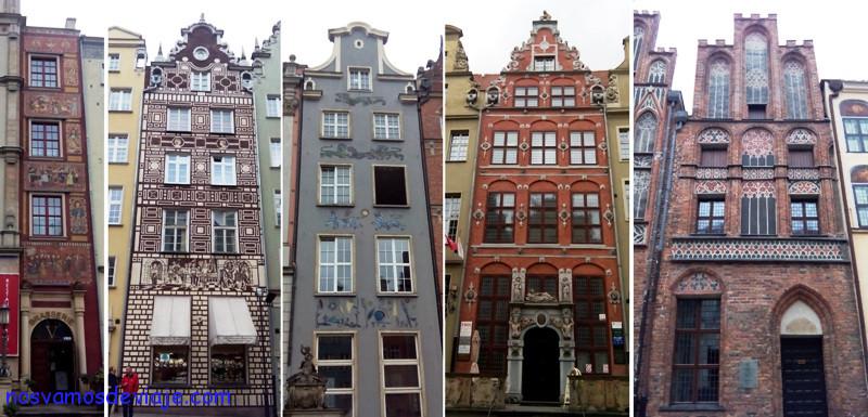 casas de Gdansk