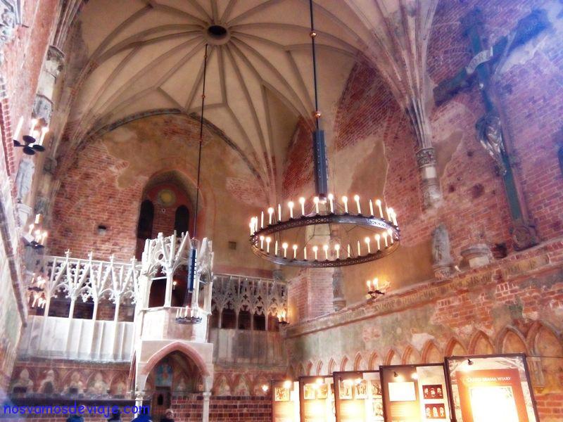 Iglesia del castillo de Mariemburgo