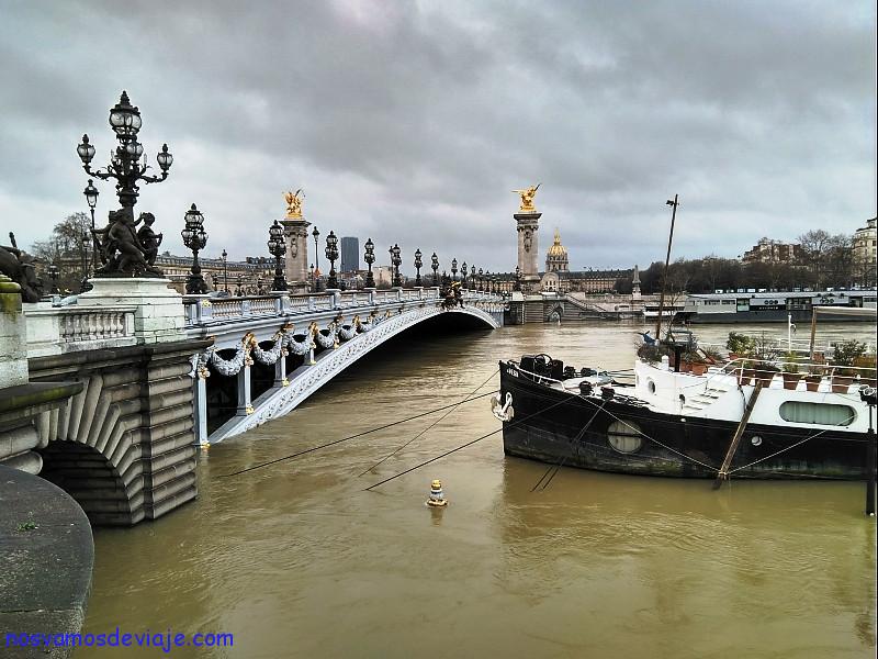 Crecida enero Paris