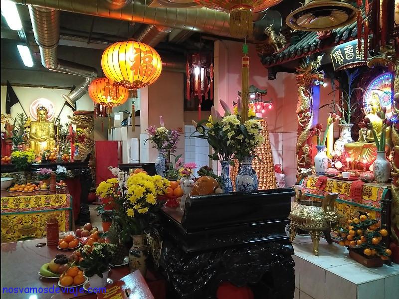 Templo chino en Paris