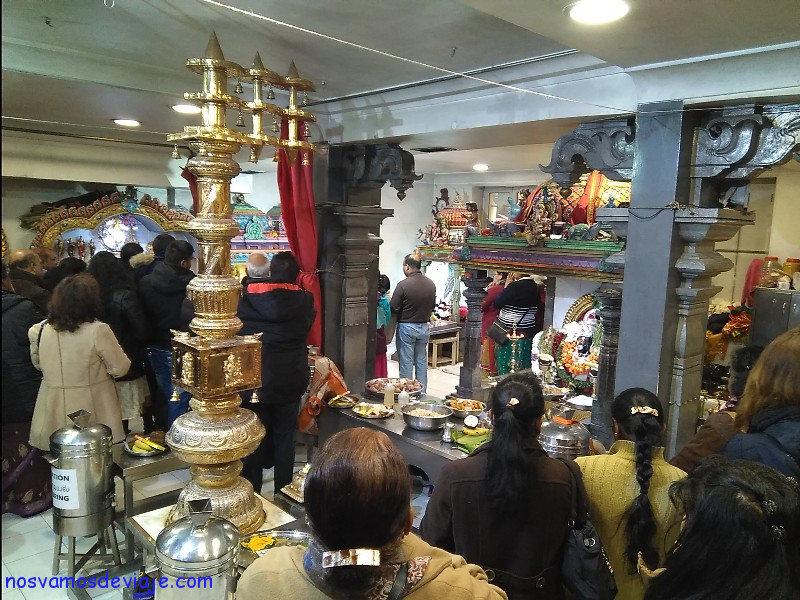 Templo hindu Paris