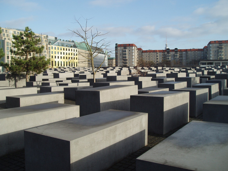 Memorial del Holocausto en Berlin