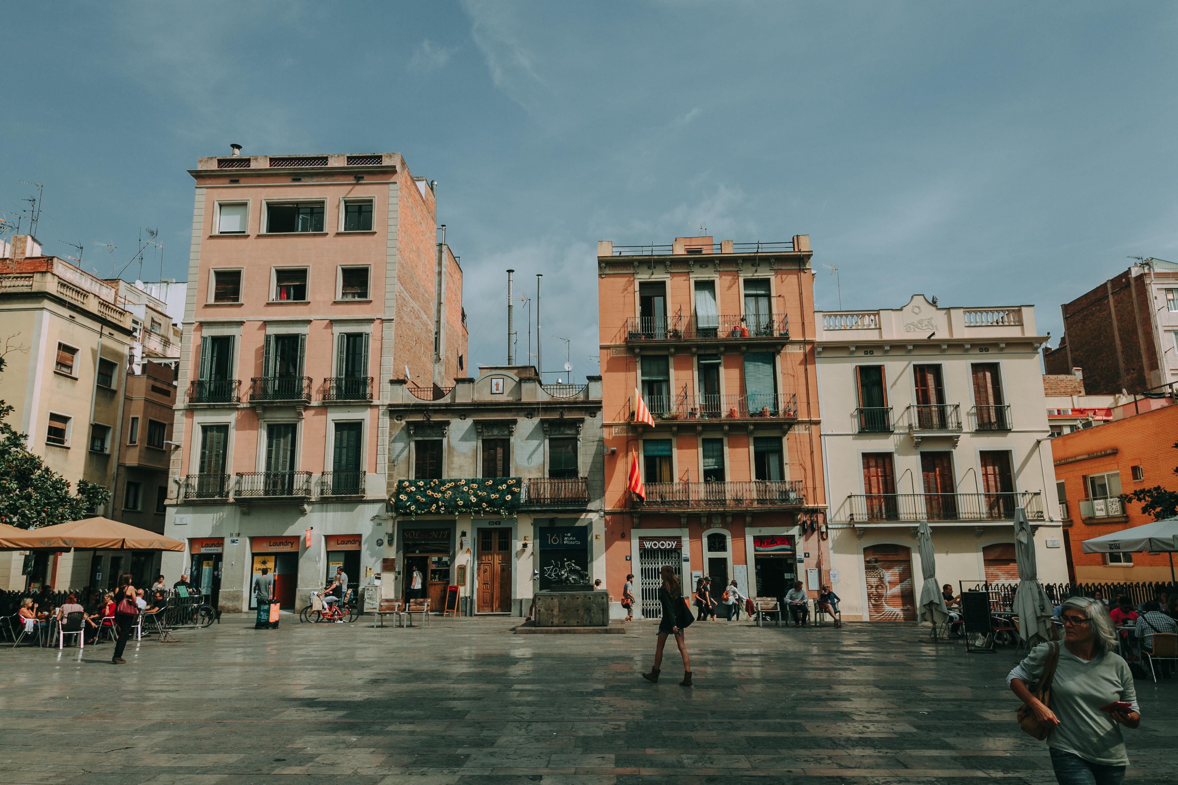 Plaza del Sol en Gracia
