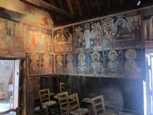 Frescos de la iglesia del Arcangel Miguel en Pedoulas