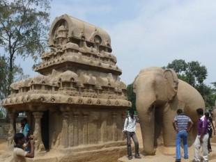 Mamallapuram. Antes fue todo una roca
