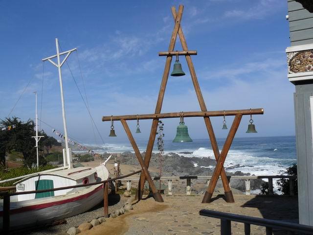 Casa de Neruda en Isla Negra