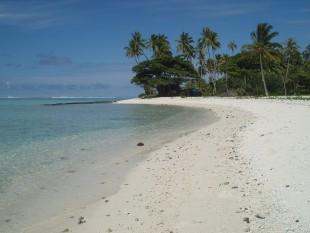 Playa de Huahine