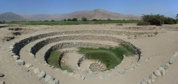 Acueducto Cantalloc en Nazca