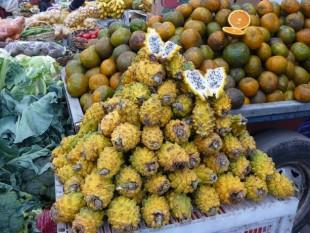 Deliciosa pitaya, mercado de Ipiales