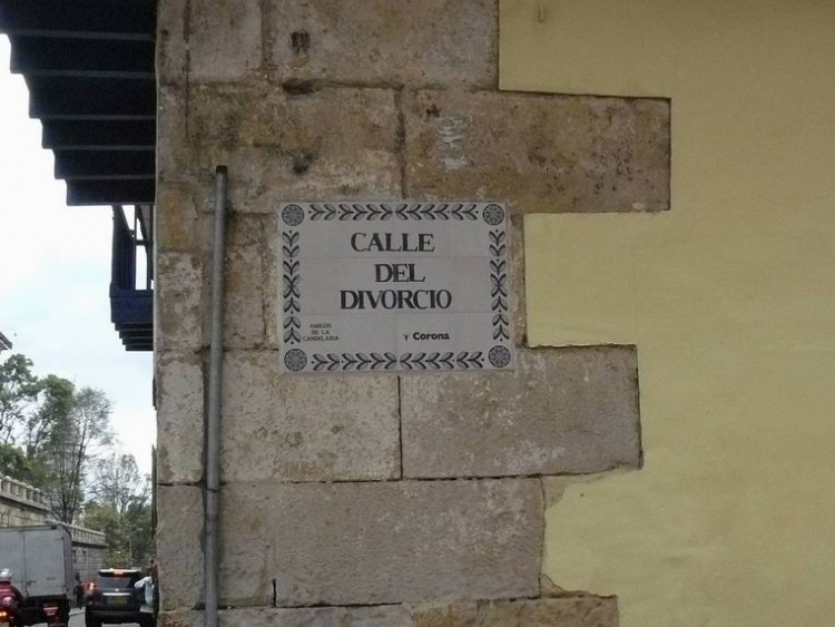 Calle del divorcio