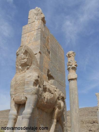 Pórtico de las Naciones, Persepolis