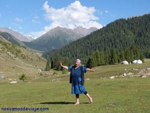 Heidi en versión kyrgyz