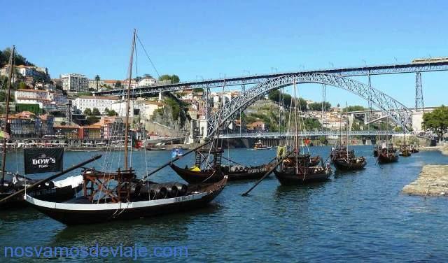 Oporto y el puente Luis I