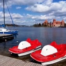 Trakai y lago