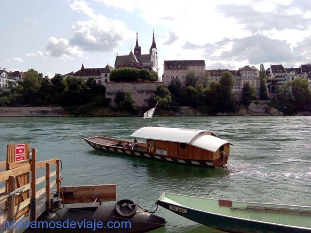 cruzando el Rin en faehri