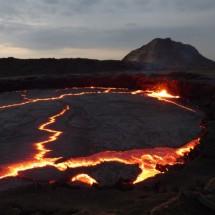 lago de lava Erta Ale